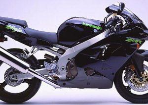 Pot echappement Kawasaki Ninja 900 ZX-9R (1998 - 01)