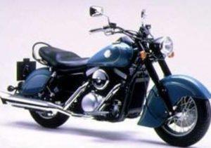 Pot echappement Kawasaki VN 1500 Drifter Fi (2000 - 01)