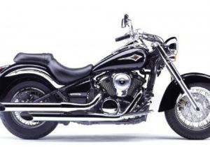 Pot echappement Kawasaki VN 900 Classic (2006 - 10)