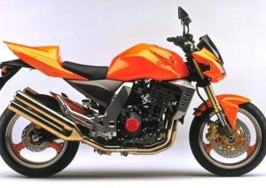 Pot echappement Kawasaki Z 1000 (2003 - 06)