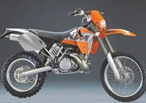 Pot echappement KTM EXC 300 (1999 - 01)