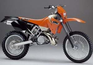 Pot echappement KTM EXC 300 (2002)