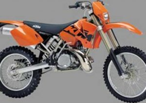 Pot echappement KTM EXC 300 (2003 - 04)