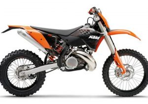 Pot echappement KTM EXC 300 E (2009)