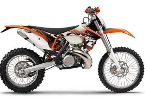 Pot echappement KTM EXC 300 E (2012)