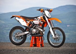 Pot echappement KTM EXC 300 E (2013)