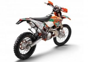 Pot echappement KTM EXC 300 E Six Days (2011)