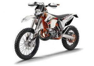 Pot echappement KTM EXC 300 E Six Days (2013)