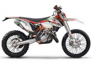 Pot echappement KTM EXC 300 E Six Days (2014)