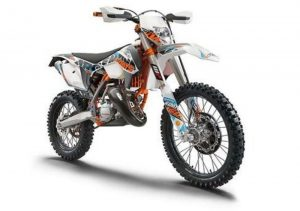 Pot echappement KTM EXC 300 E Six Days (2015)