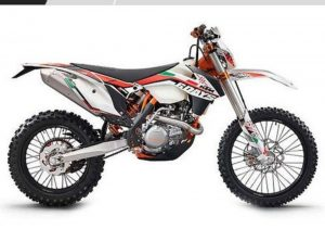 Pot echappement KTM EXC 350 F Six Days (2014)