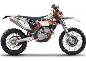 Pot echappement KTM EXC 350 F Six Days (2015)