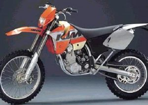 Pot echappement KTM EXC 400 (1999 - 01)