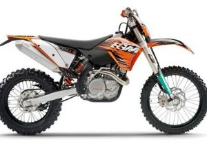 Pot echappement KTM EXC 400 (2009 - 10)