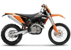 Pot echappement KTM EXC 400 (2009)