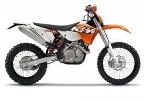 Pot echappement KTM EXC 400 (2011)