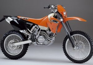 Pot echappement KTM EXC 400 Racing (2002 - 04)