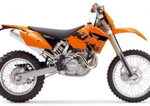 Pot echappement KTM EXC 400 Racing (2005)