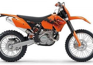Pot echappement KTM EXC 400 Racing (2006)