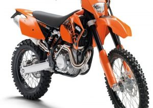 Pot echappement KTM EXC 400 Racing (2007)
