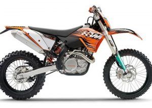 Pot echappement KTM EXC 450 (2010 - 11)