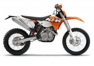 Pot echappement KTM EXC 450 R (2011)