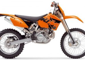 Pot echappement KTM EXC 450 Racing (2005)