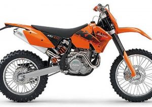 Pot echappement KTM EXC 450 Racing (2006)