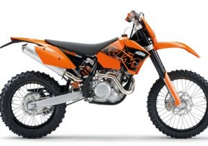 Pot echappement KTM EXC 450 Racing (2007)