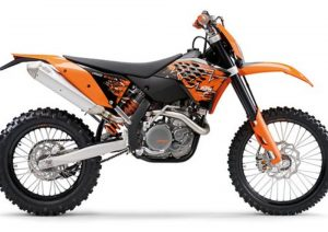 Pot echappement KTM EXC 450 Racing (2008)