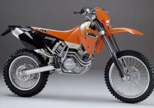 Pot echappement KTM EXC 520 Racing (2002)