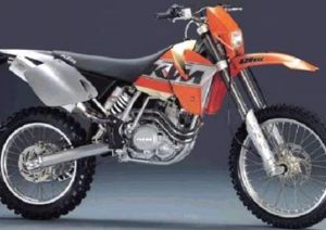 Pot echappement KTM EXC 520