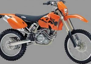 Pot echappement KTM EXC 525 Racing (2002 - 04)