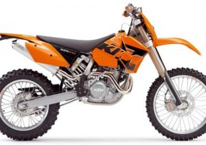 Pot echappement KTM EXC 525 Racing (2005)