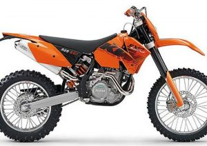 Pot echappement KTM EXC 525 Racing (2006)