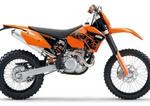 Pot echappement KTM EXC 525 Racing (2007)