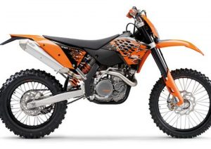 Pot echappement KTM EXC 530 Racing (2008)
