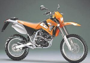 Pot echappement KTM LC4 620 Supercompetition