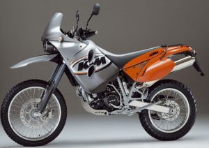 Pot echappement KTM LC4 640 Adventure (2002)