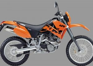 Pot echappement KTM LC4 640 Enduro (2003 - 04)