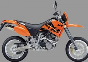 Pot echappement KTM LC4 640 SM (2002 - 04)