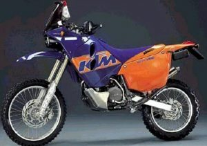 Pot echappement KTM LC4 660 Rally (1999 - 01)