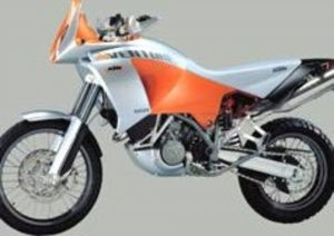 Pot echappement KTM LC8 Adventure