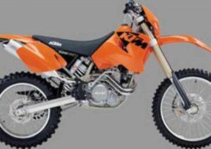 Pot echappement KTM MXC 525 Desert R. (2002 - 04)