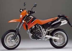Pot echappement KTM SMC 625 (2002 - 04)