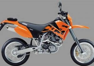 Pot echappement KTM SMC 660 (2002 - 04)