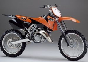 Pot echappement KTM SX 125 (2002)