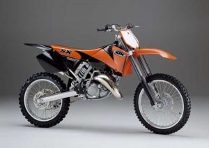 Pot echappement KTM SX 125 (2003 - 04)