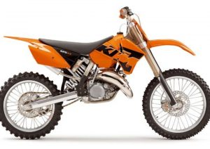 Pot echappement KTM SX 125 (2005)