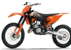 Pot echappement KTM SX 125 (2007)